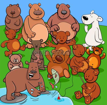 trägt, tiercharakter-karikaturillustration - 22940199