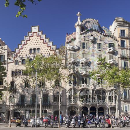 Casa batllo architekt antonio gaudi unesco lizenzpflichtiges bild 22964903 bildagentur - Architekt barcelona ...