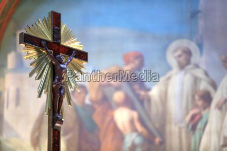 jesus christ on the cross church