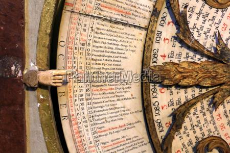 kalender astronomische uhr von johannes lyon