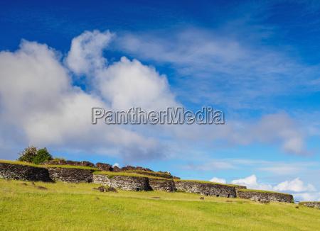 orongo village rapa nui national park