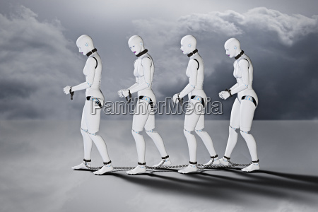 roboter frauen sklaven in ketten