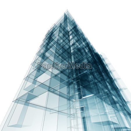 abstract building background 3d rendering