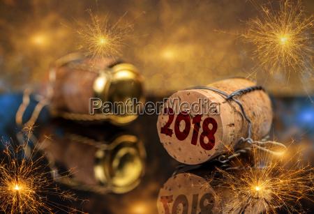 2018 neujahrskonzept
