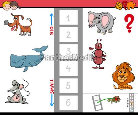 biggest animal cartoon game for children