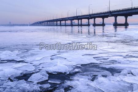 ukraine dnepropetrovsk region dnepropetrovsk city bridge