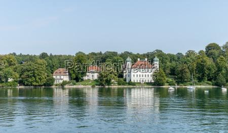 castle ammerland at lake starnberg