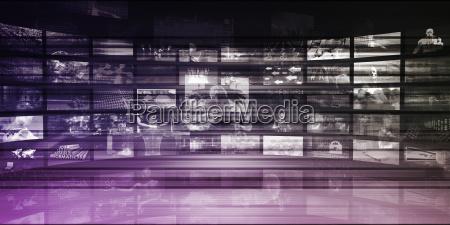 fluss der digitalen information