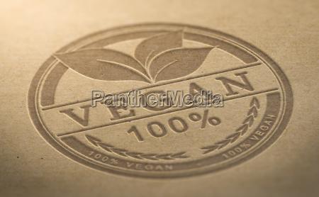 veganes produkt zertifiziert