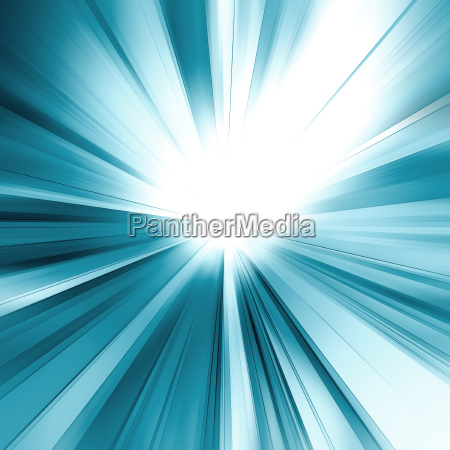 abstract blue concept 3d rendering