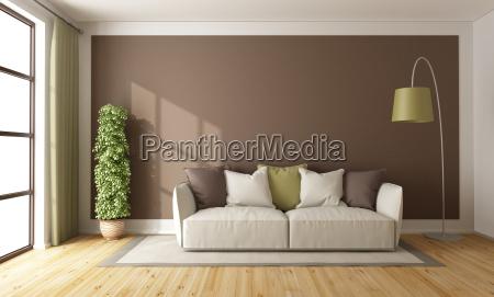 brown wohnzimmer
