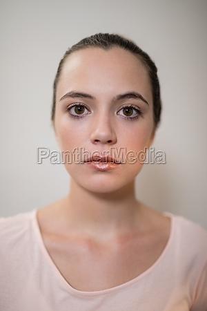 close up portrait of female therapist
