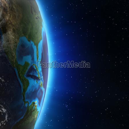 blau berge space winter nacht nachtzeit