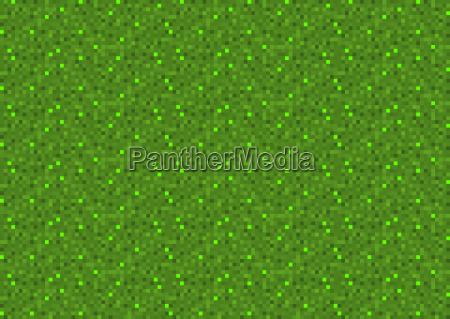 green pixel seamless background