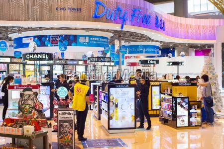 duty free shop flughafen thailand