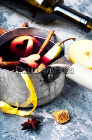 autumn alcohol drink