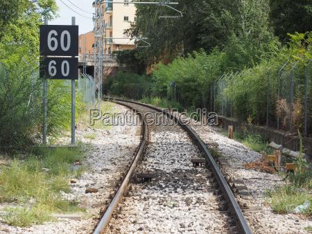 railroad railway track