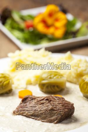 fleisch der tafelspitz mit krensauce