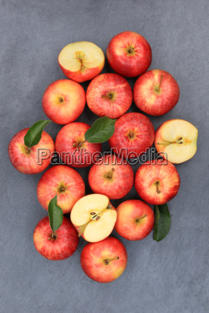 apples apple red fruit slate high