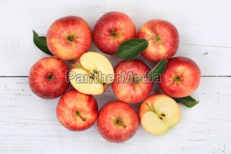 AEpfel apfel rot obst frucht fruechte