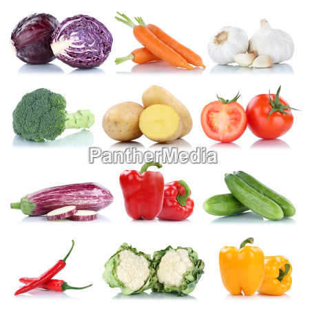 vegetable potatoes carrots tomato peppers cucumbers