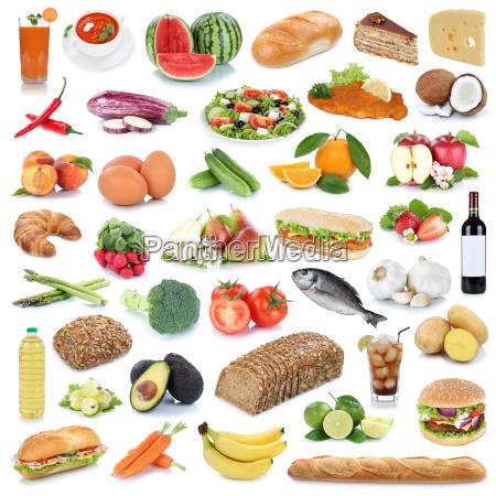 essen sammlung hintergrund gesunde ernaehrung obst