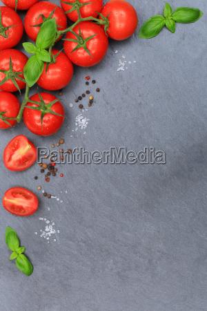 tomaten tomate rot gemuese hochkant schiefertafel