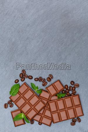 chocolate milk chocolate table slate table