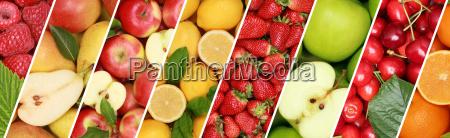 fruechte frucht obst essen hintergrund banner