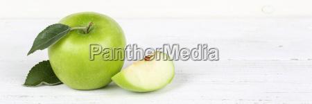 apple green fruit fruit fruit banner