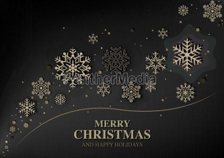 abstract modern christmas greeting