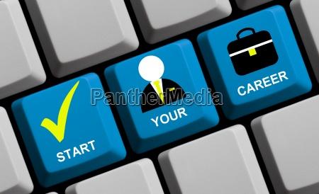 start your career online