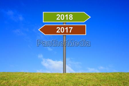 schild wegweiser zeig in richtung 2017