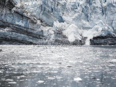 margerie glacier at glacier bay national