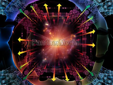 computing quantum space
