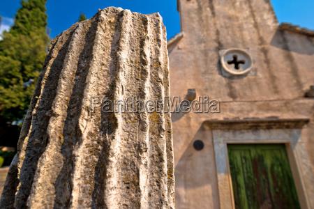 stone village of skrip historic detail