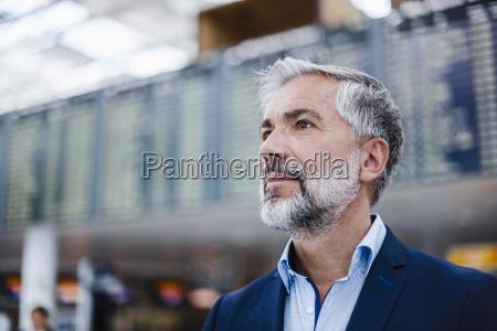 portrait of confident businessman at a