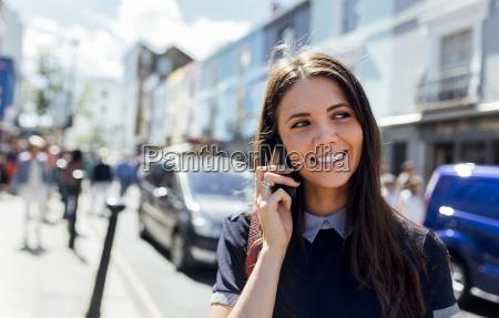 uk london portobello road portrait of