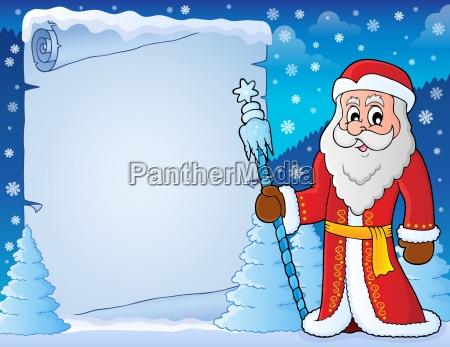 father frost theme parchment 4