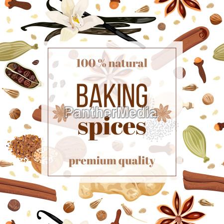backing spices big set