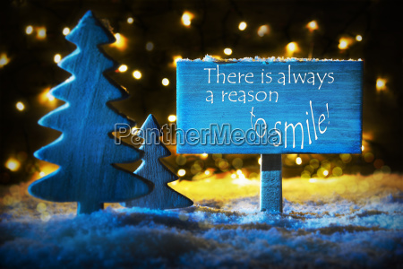blue christmas tree quote always reason
