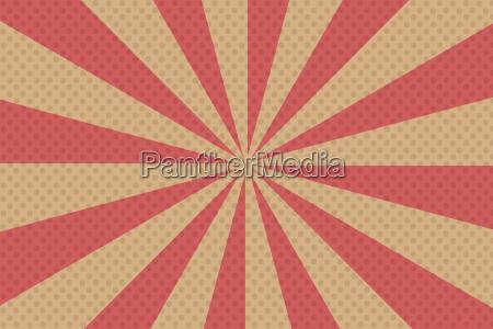 pop art rays background