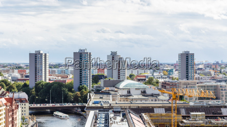berlin with muhlendammbrucke mill dam bridge