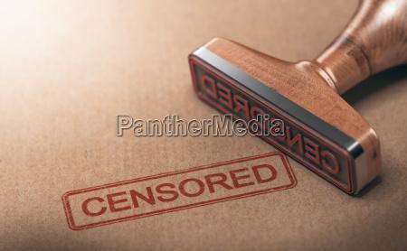 zensierte information zensur und redefreiheit