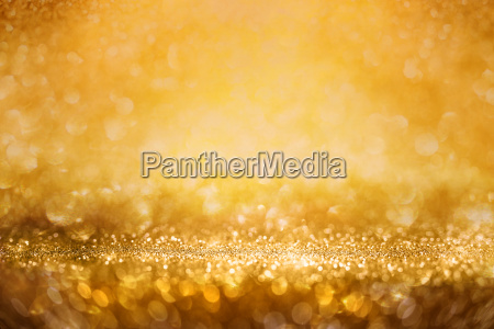 abstract golden glitter bokeh background