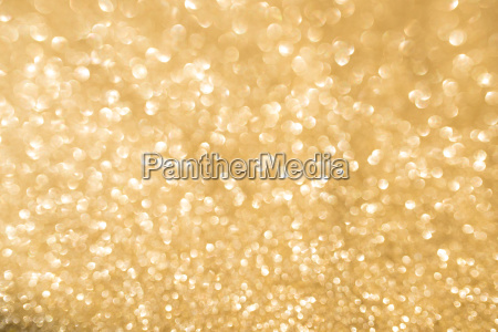 abstract golden glitter bokeh background