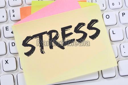 stress im job burnout entspannung erschoepfung