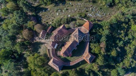 viscri fortified church transylvania romania