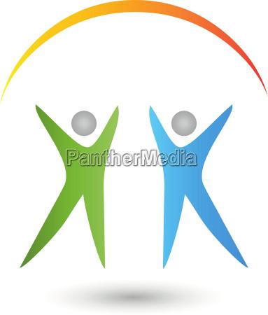 people naturopaths physiotherapy orthopaedics logo
