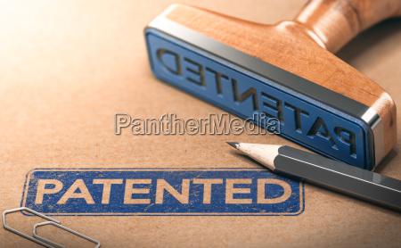ip intellectual property patentkonzept